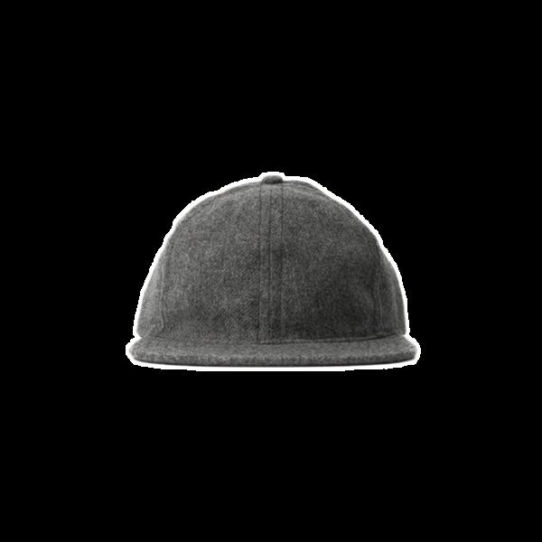 Flannel Ball Cap - Shetland Grey