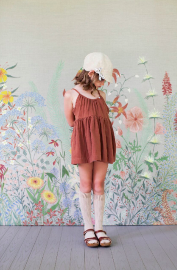 Soor Ploom Birdie Tunic Terracotta