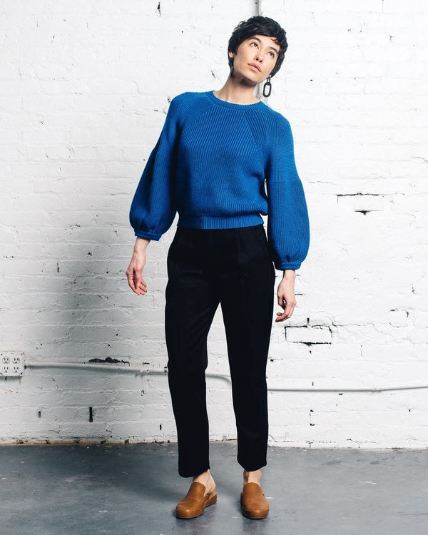 Mara Hoffman Eliza Sweater - Navy