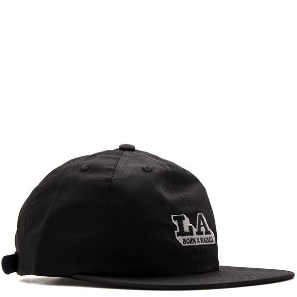BORN X RAISED LOS ANGELES EXPRESS STRAPBACK / BLACK