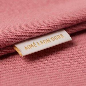 Aimé Leon Dore Logo Kanga Hoodie - Dusty Pink
