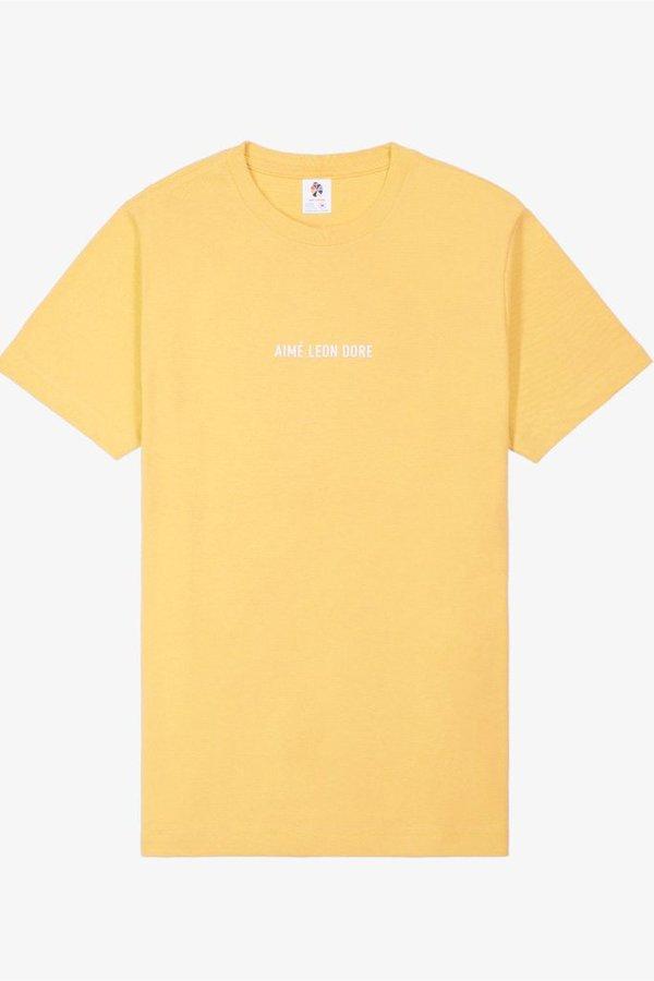 Aimé Leon Dore Logo Tee - Yellow