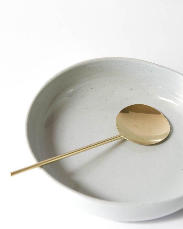 Lue Brass Handmade Brass Serving Spoon