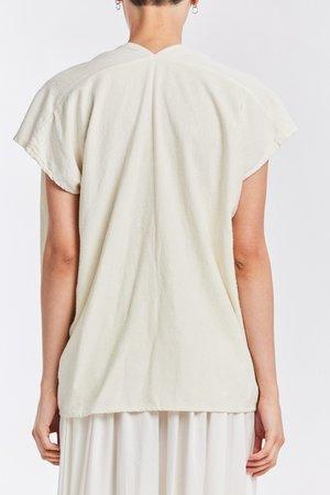 Studio Sale: Ed. VIII Everyday Top, Silk Noil in Natural