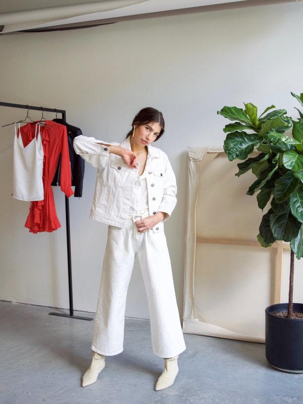 Just Female Pauline Jacket - Natural Denim