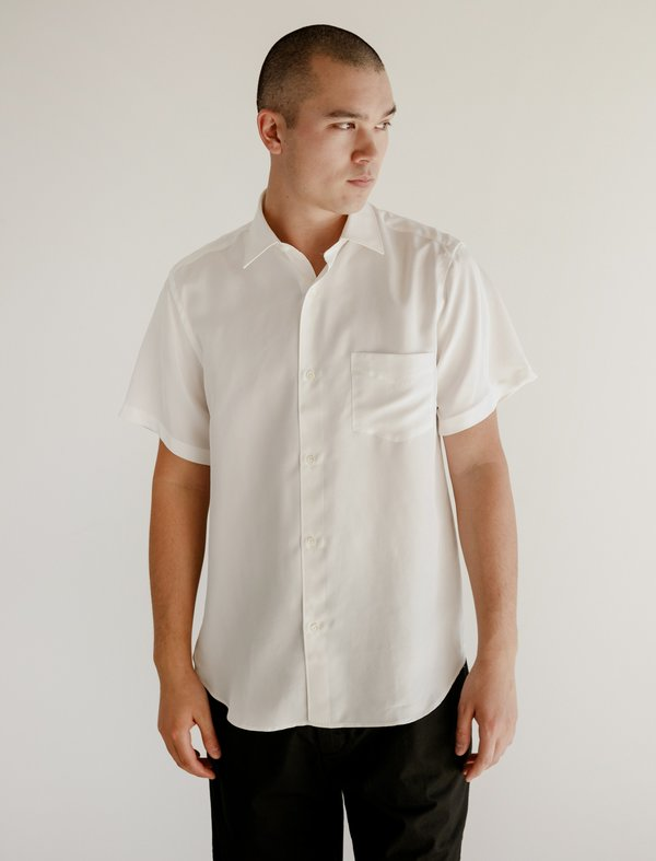 Cobra SC Short Sleeve Shirt - Optic White