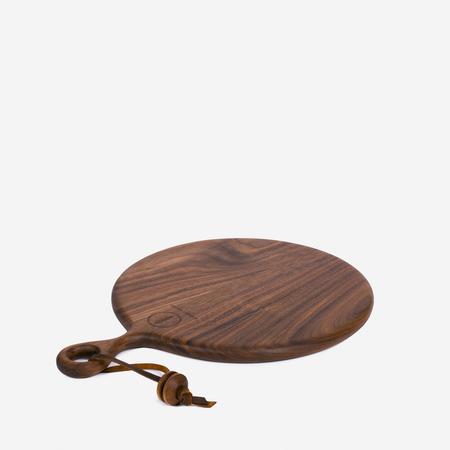 Wronko Woods Round Serving Board - Walnut
