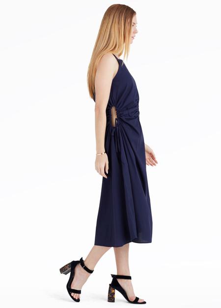 Toit Volant Jurancon Dress - Navy Blue