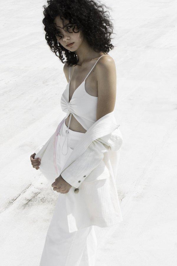 OhSevenDays The Friday Jacket - White