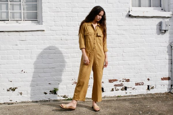 Lacausa Charlie Coveralls in Bronze
