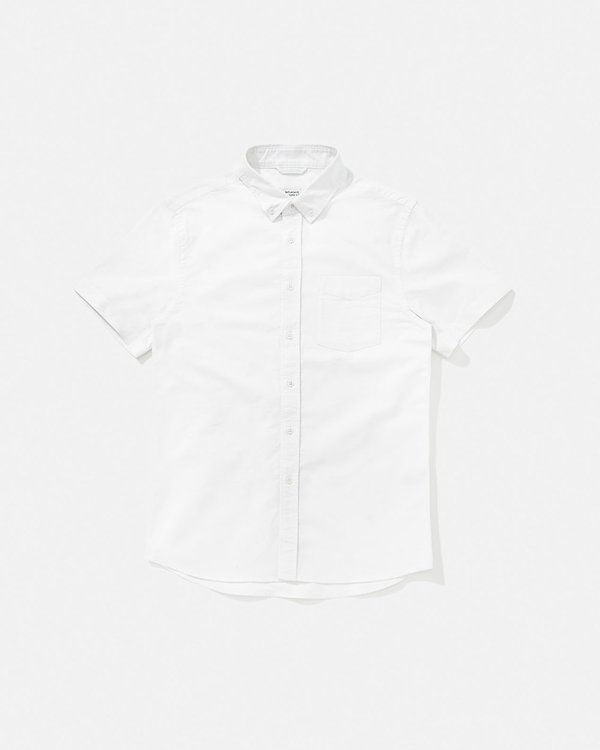 Saturdays NYC Esquina Oxford Shirt - White