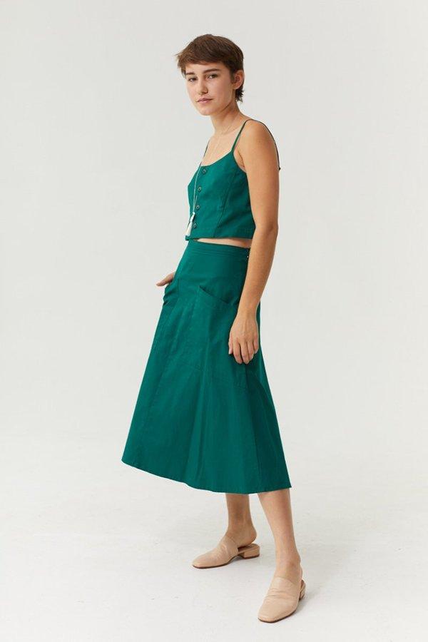 Ursa Minor Bev Skirt - Jade