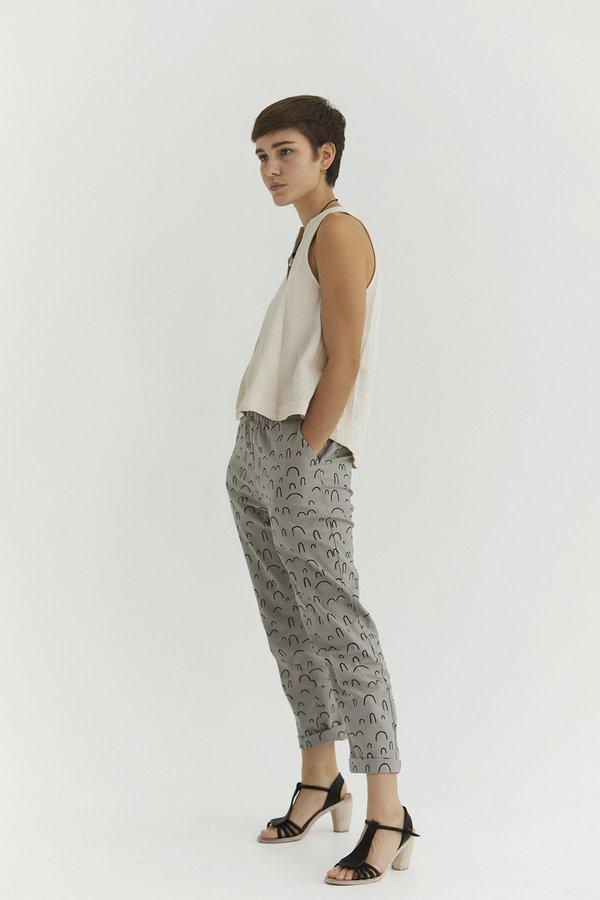 Ursa Minor Peasy Pants - Pewter Print
