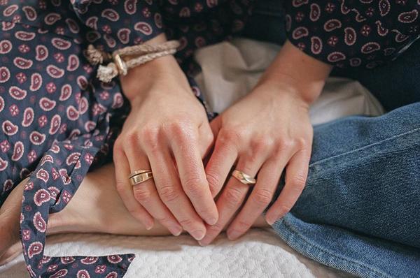 Erin Considine Signet Ring - Brass