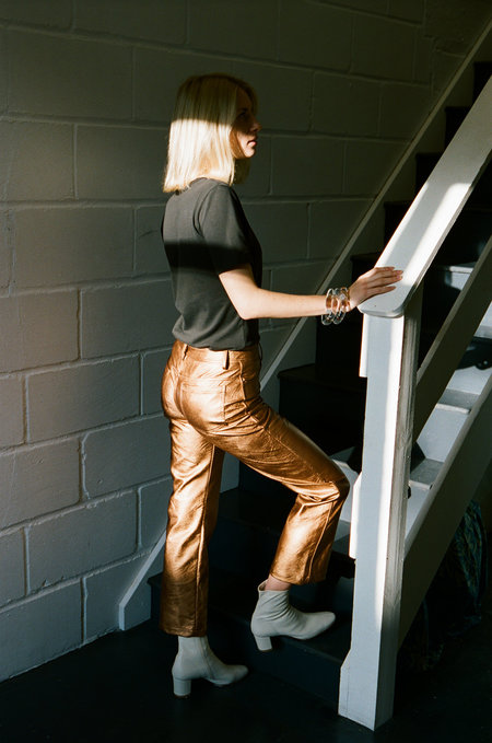 NO.6 Tuesday Jeans - BRONZE