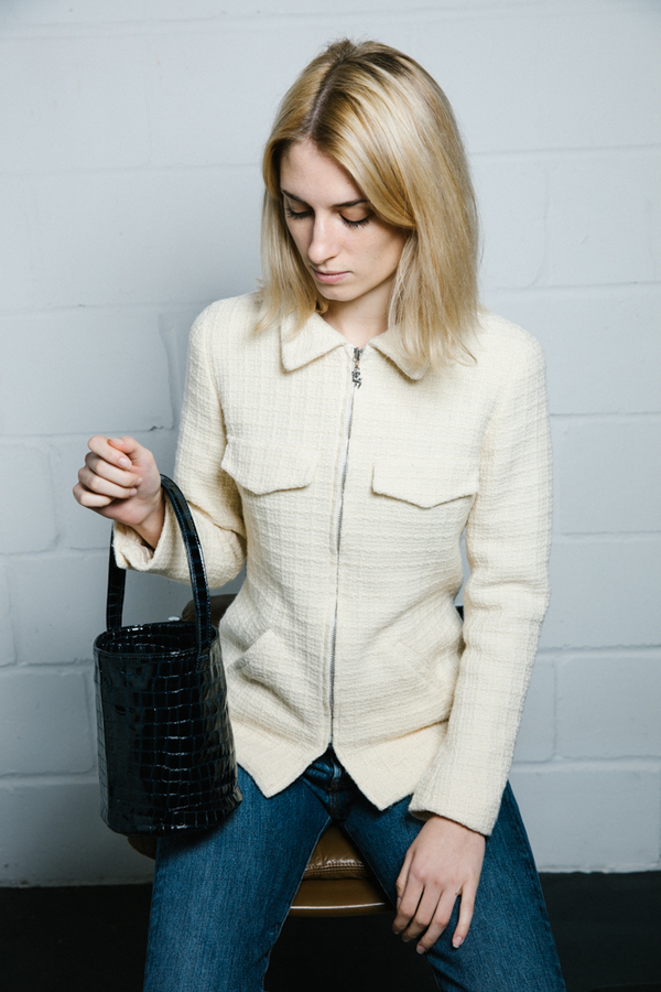 JOAN VINTAGE Boucle Jacket