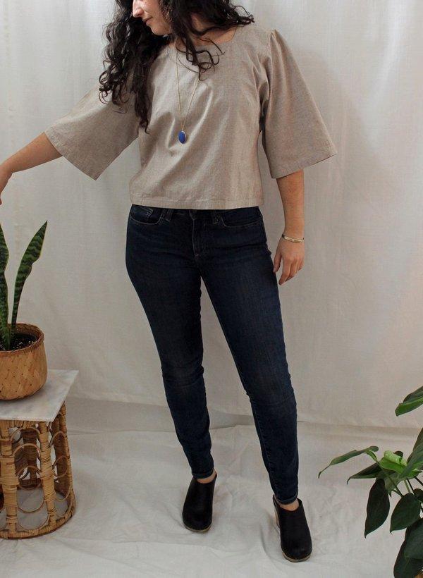 Milena Silvano Kimono Smock Top