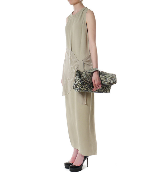 3.1 Phillip Lim Column Gown with Waist Tie