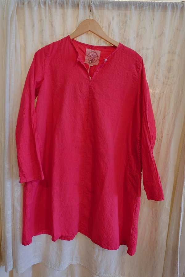 Auntie Oti Mini Dress in Hot Pink