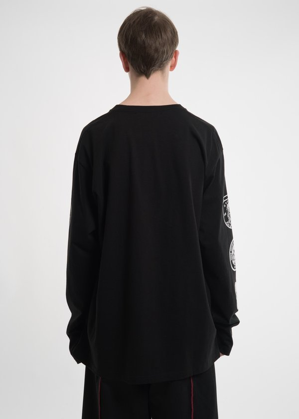 Hyein Seo Black Graphic L/S T-Shirt