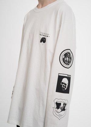 Hyein Seo White Graphic L/S T-Shirt