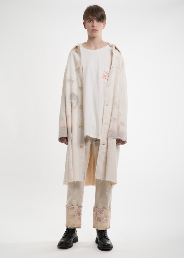 Hyein Seo White Pocket Detail Shirt