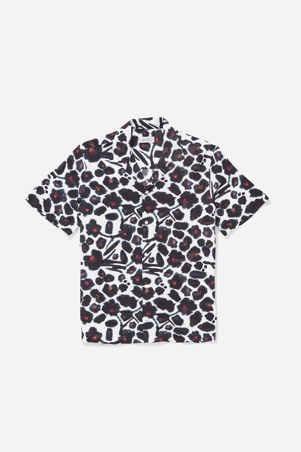 Saturdays NYC Canty Shirt - Water Floral