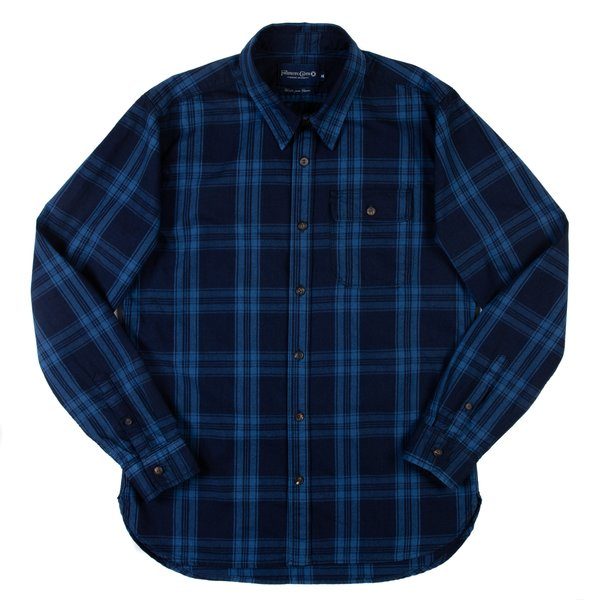 Freenote Jepson Shirt - Blue Moss