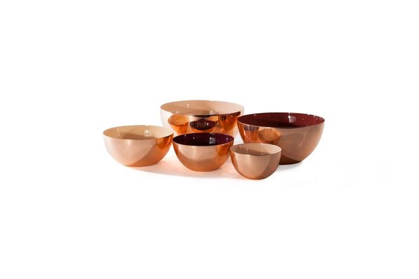 Hawkins New York Medium Bowl - Copper/Blush