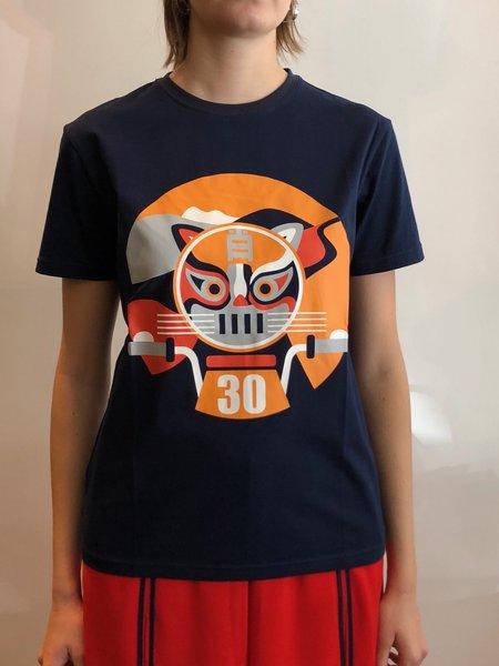 Cynthia & Xiao Tiger T Shirt - Black