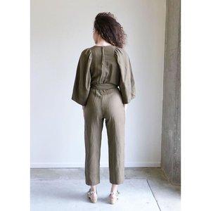Apiece Apart Meru Wrap Jumpsuit