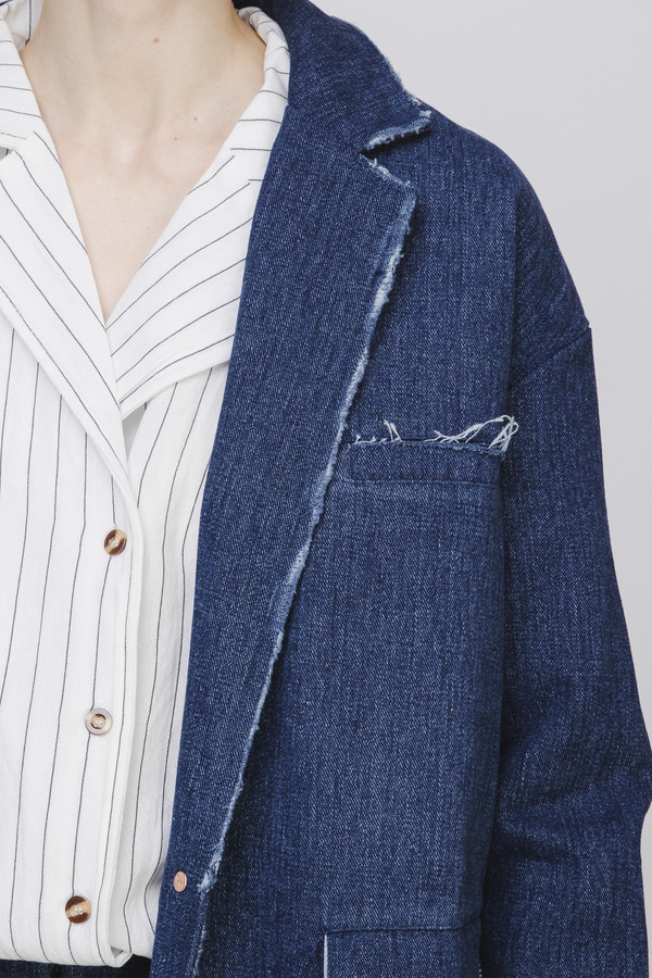 Opusion Denim Trench Coat