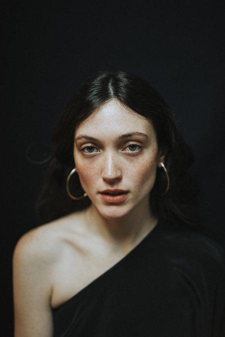 Osea hoop earrings - Bronze