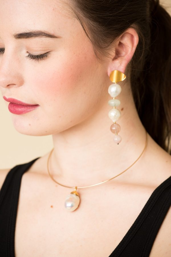 Lizzie Fortunato Pastel Column Earrings sdGfQt1Z