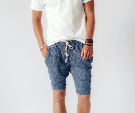 Crow Collective Journey Shorts - Moroccan Midnight