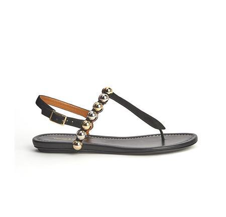Visconti & Du Reau Luna Sandals - Black
