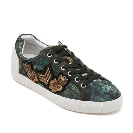 Ash Nad Arms Fabric Sneaker - Green Military