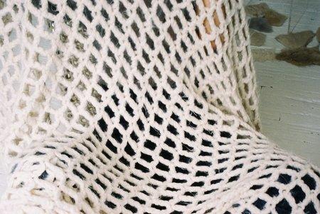 Doucement Josef Blanket - White