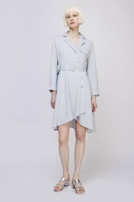 Fansilanen Midi Dress with Belt