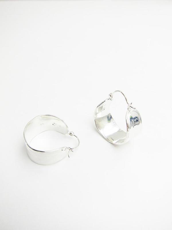 Leigh Miller Jewelry Wakame Silver Hoop Earrings Tj0jF2u