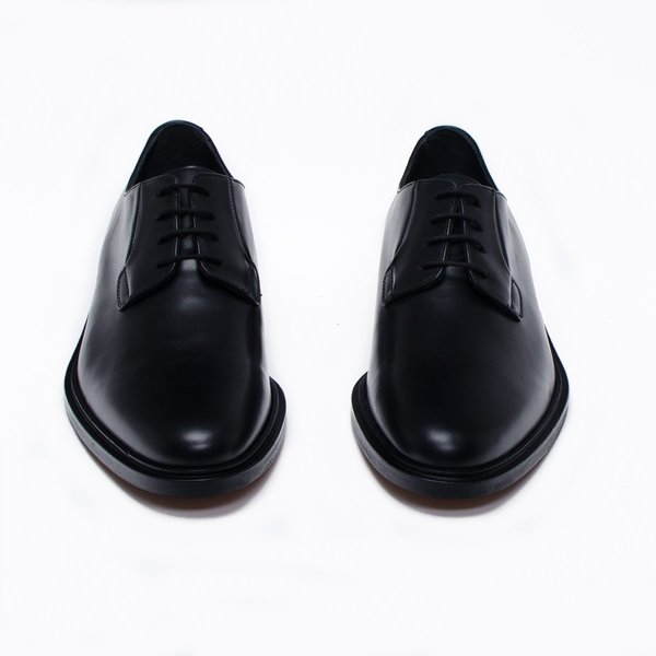 Common Projects Leather Sole Derby - Black