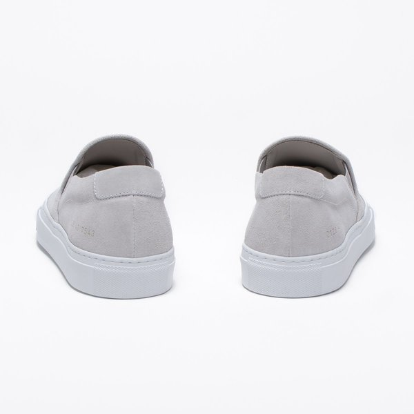Common Projects Slip On Suede -  Grey