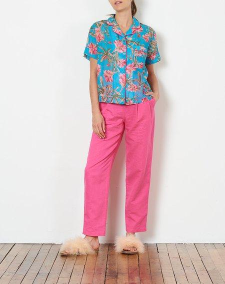 Rachel Antonoff Ari PJ Top - Tropical Floral