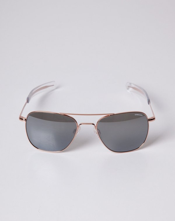 1b6ad448926 Randolph Engineering Aviator Sunglasses - Rose Gold
