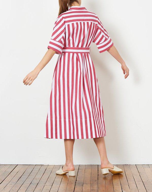 49f84552f69 Rachel Antonoff Benay Shirt Dress - Red and White. sold out. Rachel Antonoff
