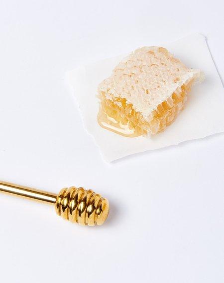 Sir Madam Brass Honey Dipper