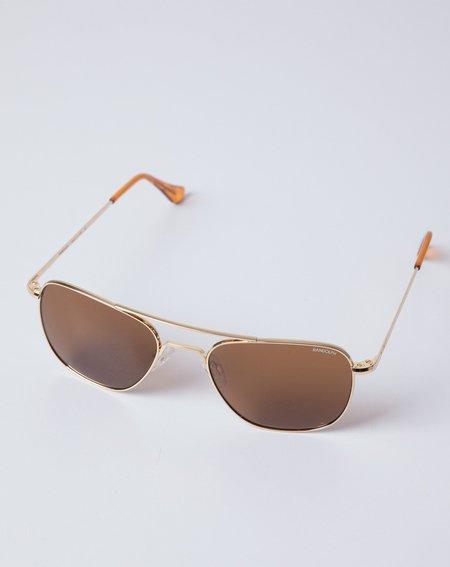 Randolph Engineering Aviator Sunglasses - Gold
