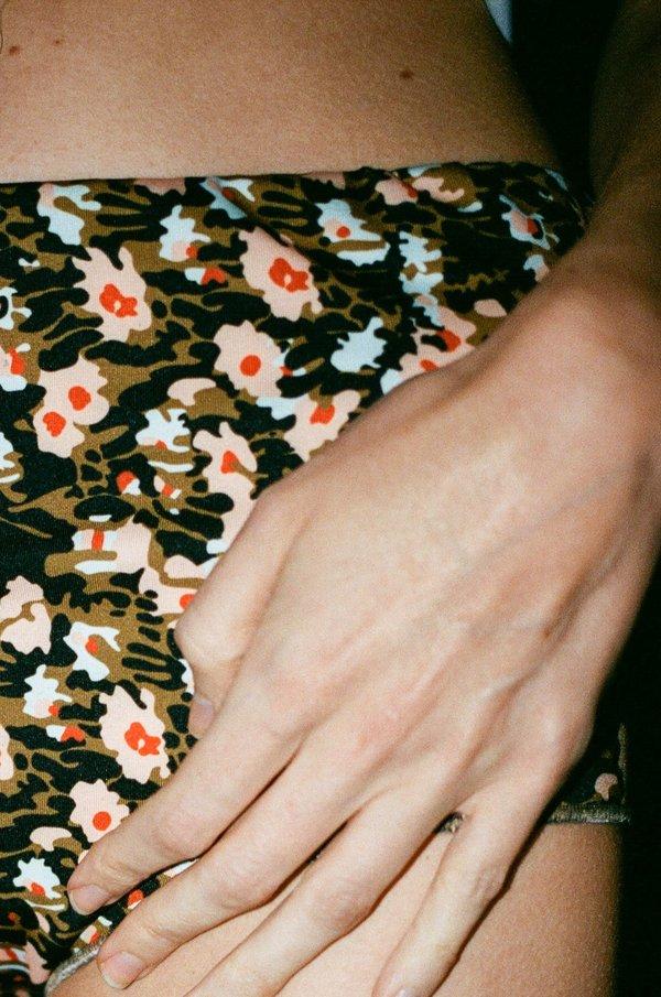 A Détacher Molly Dress - Wildflower/Coral Fluo