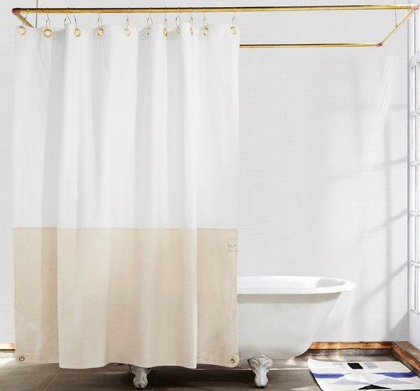 Quiet Town Orient Shower Curtain