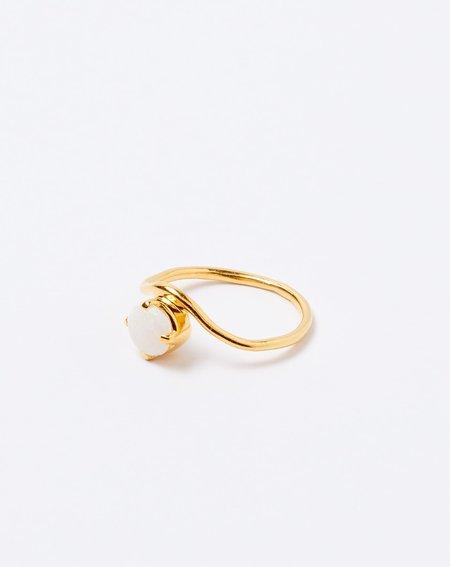 Ida James Opal Arch Ring